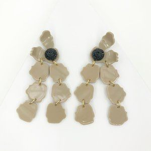 LELE SADOUGHI | Petal Drop Earrings in Nude